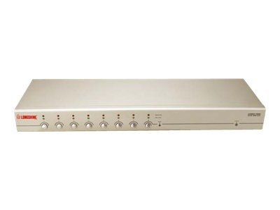 Longshine LCS-K908 - KVM-Switch - PS/2, USB - 8 x KVM port(s) - 1 lokaler Benutzer - an Rack montierbar