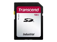 Transcend Industrial Temp SD100I - Flash-Speicherkarte - 128 MB - SD