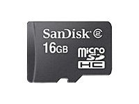 SanDisk - Flash memory card - 16 GB