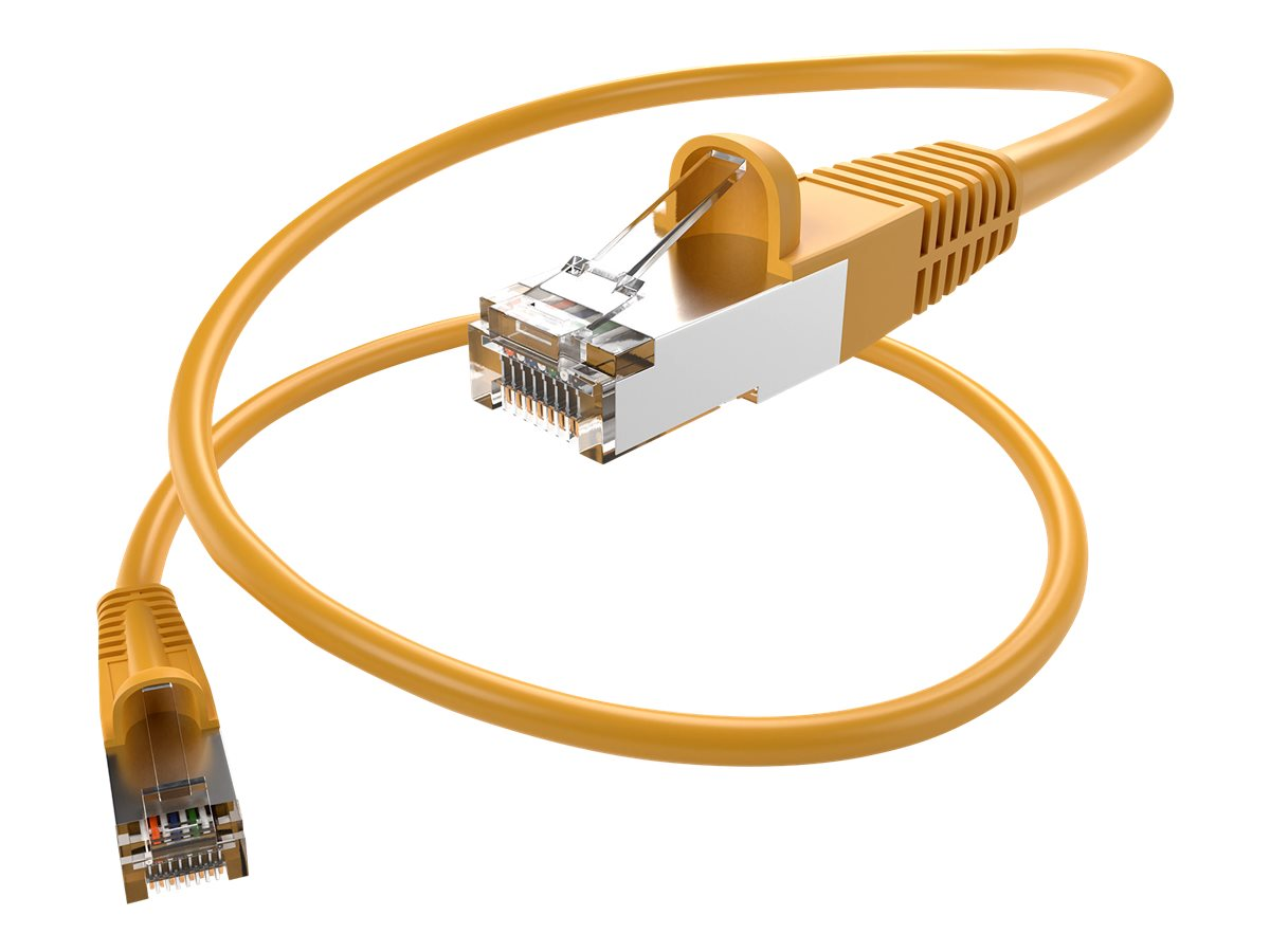 Oncore patch cable - 7.6 m - yellow