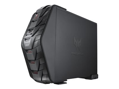 Acer Predator G3-710_Wkbl Tower 1 x Core i5 7400 / 3 GHz RAM 16 GB SSD 128 GB, HDD 1 TB
