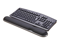 Rexel height adjustable wrist rest. Provides extra comfort and support as you type. Height adjustable to match any keyboard. Gel pillow moulds to the wrist and hand for optimum comfort.