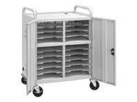 Da-Lite Advance CT-LS20 Notebook storage cart dove gray
