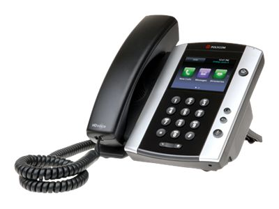 equal2new POLYCOM VVX 500 12 LINE BUSINESS MEDIA PHONE WITH HD VOICE
