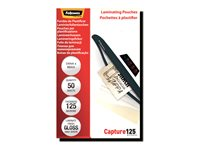 Fellowes Laminating Pouches Capture 125 micron Laminerings poser 54 x 86 mm Klar