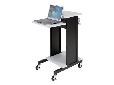 BALT Presentation Cart Cart for projector / notebook steel gray, black