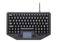 iKey Full Travel IK-88-TP-USB-P Keyboard with touchpad backlit USB
