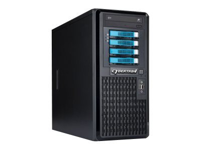 CybertronPC Caliber SVCIA4341 Server tower 1-way 1 x Xeon E3-1270 / 3.4 GHz RAM 16 GB