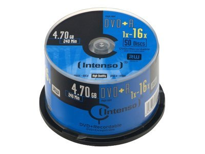 Intenso - 50 x DVD+R - 4.7 GB 16x - Spindel