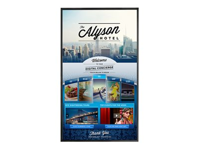 Planar PS6562T 65INCH Class LED display interactive digital signage