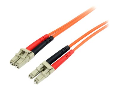 StarTech.com 3m Fiber Optic Cable - Multimode Duplex 62.5/125 - LSZH - LC/LC - OM1 - LC to LC Fiber Patch Cable (FIBLCL…