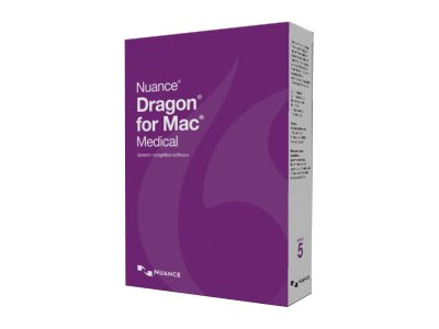 Dragon for Mac Medical (v. 5.0) box pack (upgrade) 1 user Mac