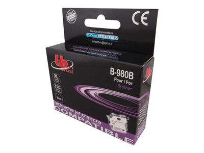 compatibles Brother  Brother LC1100/LC980 - remanufacturé UPrint B.980/1100B - noir - cartouche d'encre