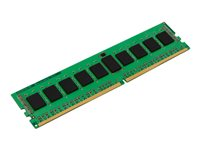 Kingston - DDR4 - 16 Go - DIMM 288 broches - 2666 MHz / PC4-21300 - CL19 - 1.2 V - mémoire enregistré - ECC