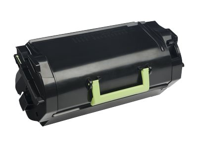Lexmark 621X Extra High Yield black original toner cartridge LCCP, LRP