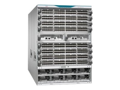 Cisco MDS 9710 Base Config - switch - managed - rack-mountable - with 2 x Cisco MDS 9700 Series Supervisor-1 Module, 3x Cisco MDS 9710 Crossbar Switching Fabric-1 Module
