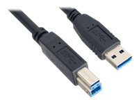 Link Depot USB cable USB (M) to USB Type B (M) USB 3.0 15 ft black