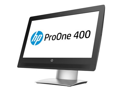 """HP ProOne 400 G2 - All-in-one - 1 x Core i5 6500 / 3.2 GHz - RAM 4 GB - SSD 128 GB - 3D V-NAND technology - HD Graphics 530 - GigE - Win 7 Pro 64-bit (includes Win 10 Pro 64-bit License) - monitor: LED 20"""" 1600 x 900 (HD+) touchscreen - keyboard: US"""