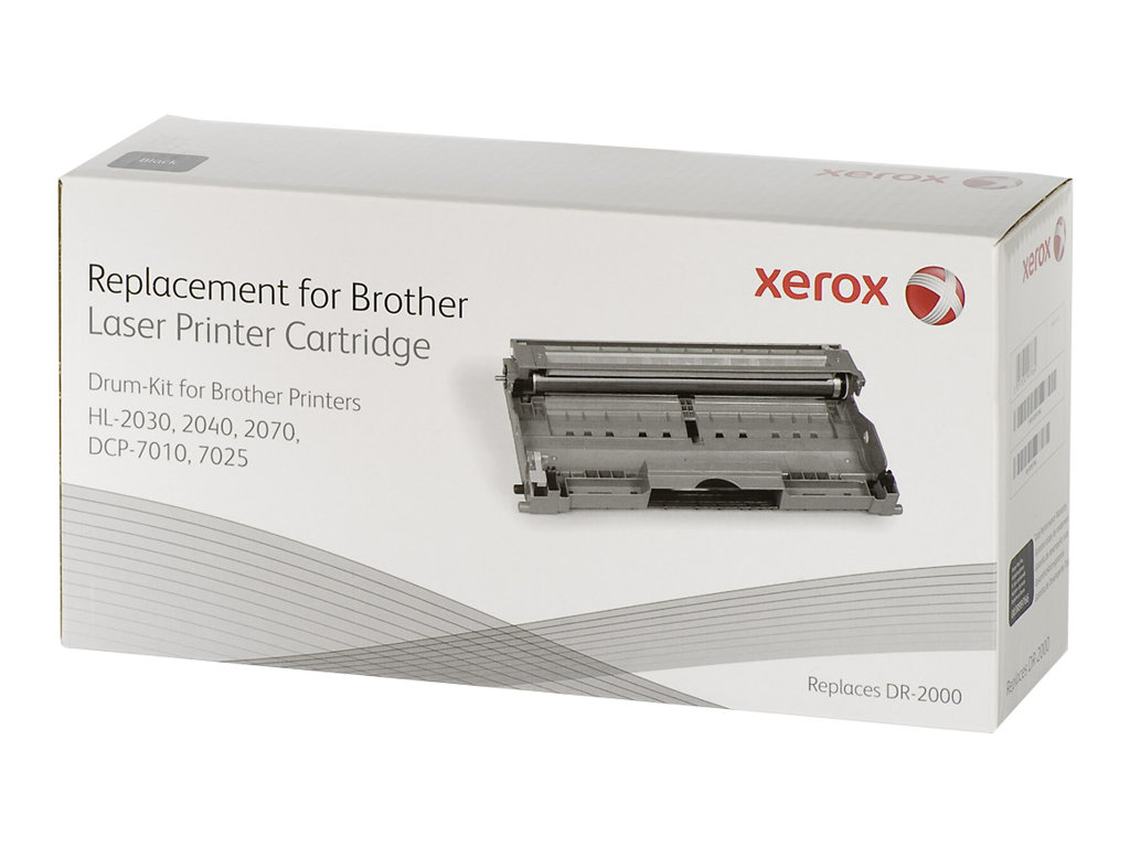 Xerox - noir - kit tambour (alternative pour : Brother DR2100)