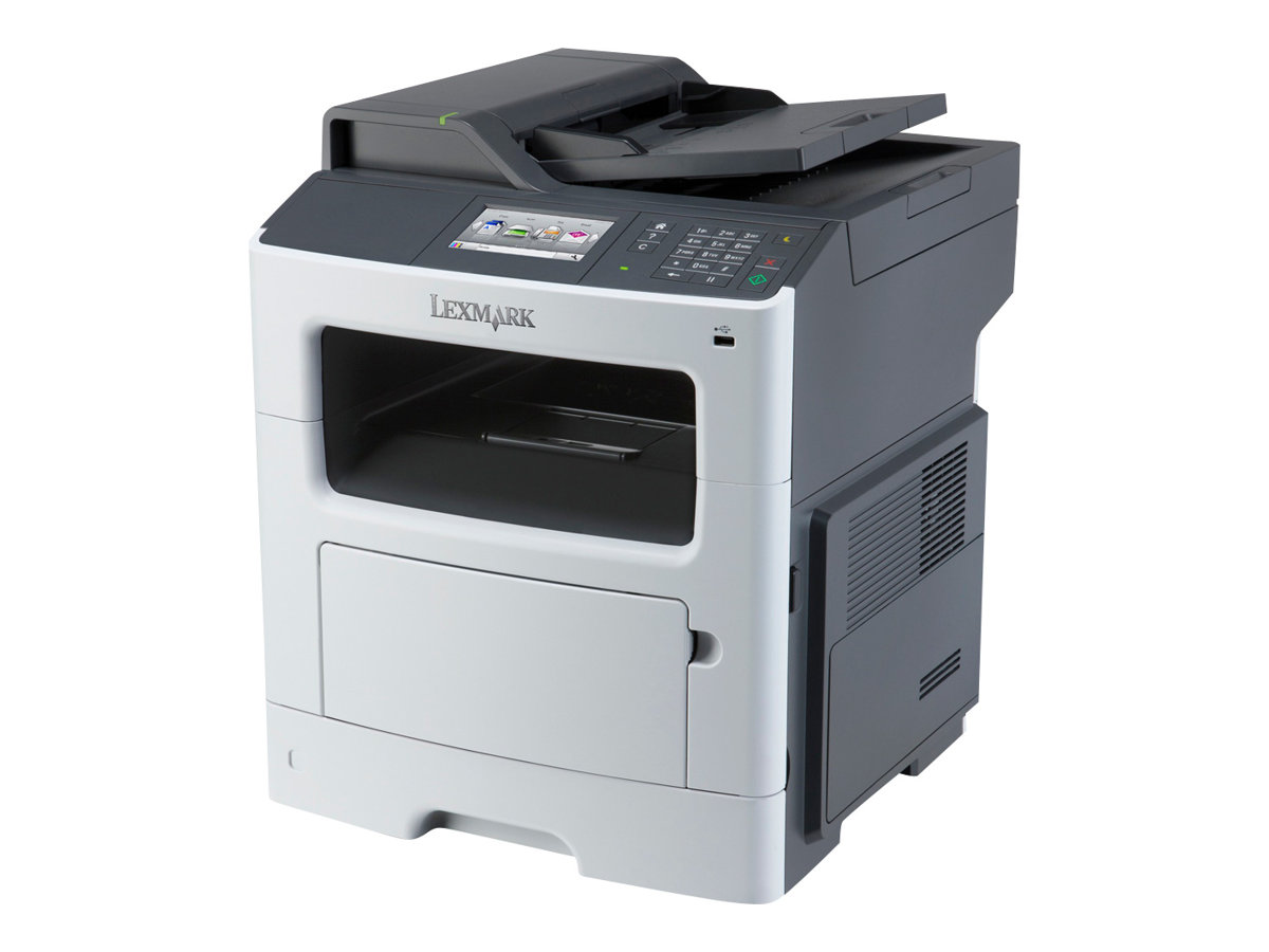 Lexmark MX410de - Multifunktionsdrucker - s/w - Laser - Legal (216 x 356 mm) (Original) - Legal (Medien)