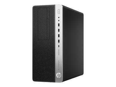 HP EliteDesk 800 G3 - tower - Core i7 6700 3 4 GHz - 8 GB - 256 GB - US