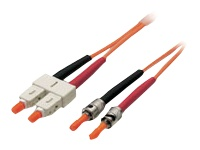 Lindy - Patch cable - ST multi-mode (M) to SC multi-mode (M) - 10 m - fibre optic - 62.5 / 125 micron - OM1 - halogen-free