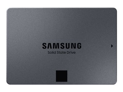 "Samsung 860 QVO MZ-76Q2T0BW - Solid state drive - encrypted - 2 TB - internal (desktop) - 2.5"" - SATA 6Gb/s - buffer: 4 GB"