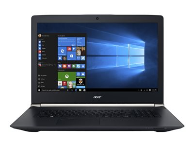"Aspire V 17 Nitro 7-792G-78Z9 - Black Edition - 17.3"" - Core i7 6700HQ - 16 Go RAM - 256 Go SSD + 1 To HDD - suisse allemand"