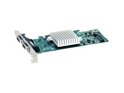 Supermicro AOC-UINF-M2 - remote management adapter - PCIe 2.0 x8 - 2 ports