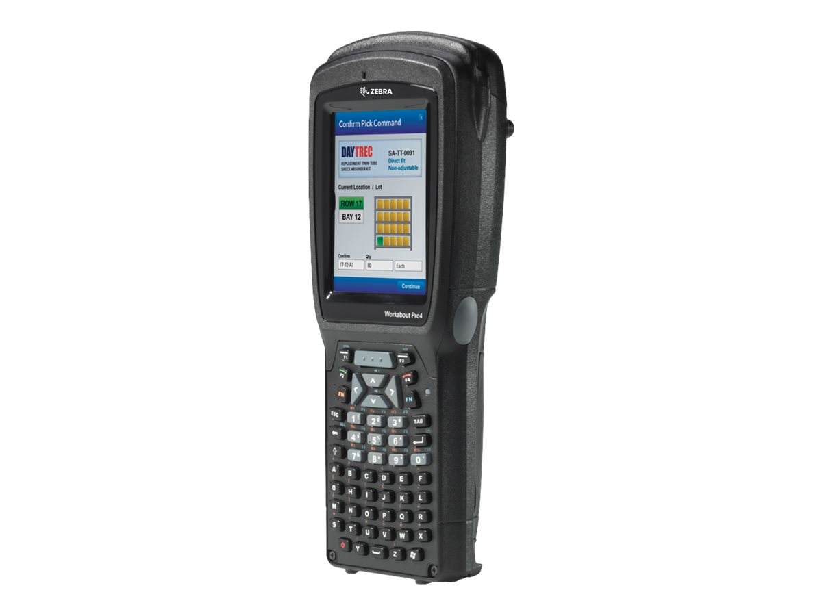 """Zebra Workabout Pro 4 Short - data collection terminal - Win Embedded CE 6.0 - 4 GB - 3.7"""""""