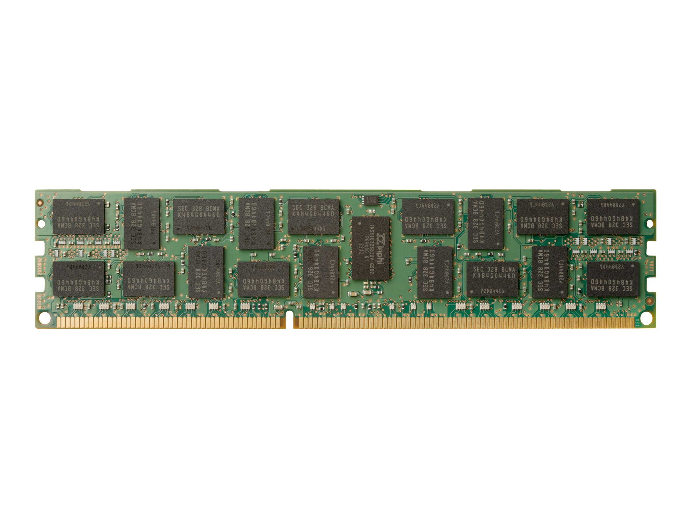 HP - DDR4 - module - 16 GB - DIMM 288-pin - 2400 MHz / PC4-19200 - registered