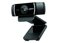 Logitech HD Pro Webcam C922 - Webcam - couleur - 720p, 1080p - H.264