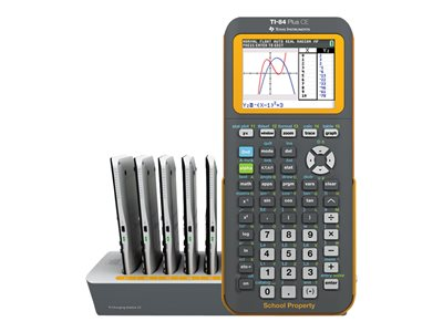 Texas Instruments TI-84 Plus CE EZ-Spot Teacher Pack Graphing calculator USB