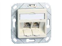 BTR E-DAT modul 8/8(8) UPk - Flush mount outlet