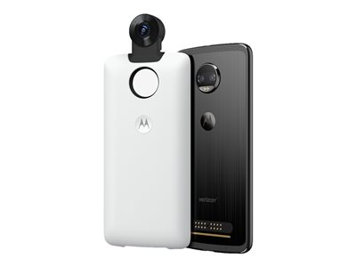 Motorola Moto Mods 360 Camera 360° digital camera module smartphone attachable 4K whi