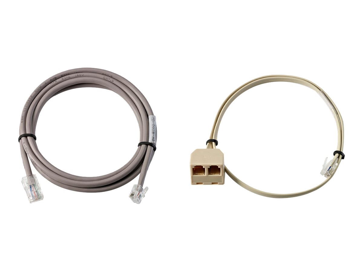 HP Cable Pack for Dual Cash Drawers - Kabelkit für Kassenschublade - für RP3 Retail System 3100; RP7 Retail System 7100, 7800
