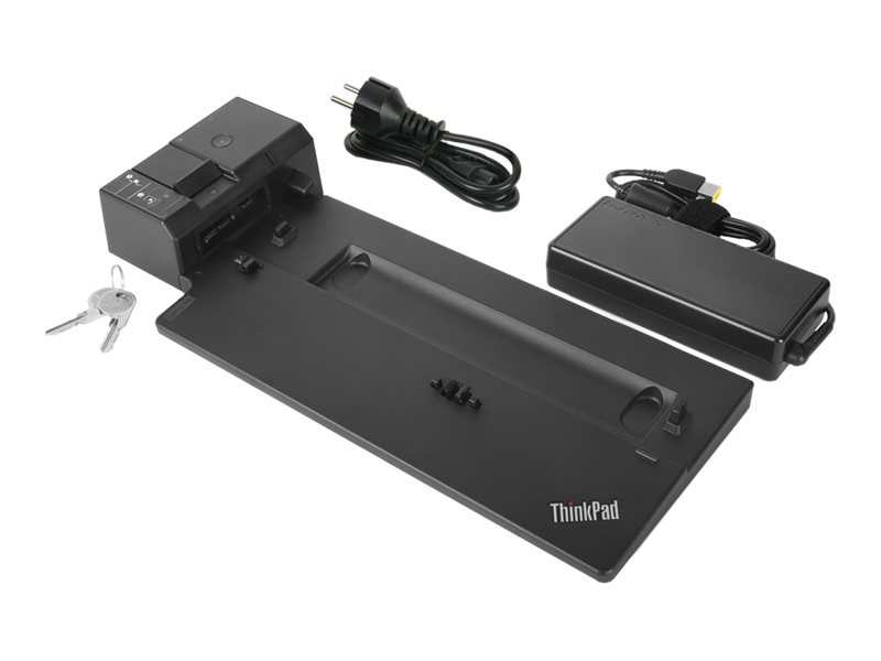 Lenovo ThinkPad Ultra Docking Station - docking station - VGA, HDMI, 2 x DP