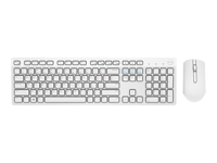 Dell KM636 - Keyboard and mouse set - wireless - UK layout - white - for Inspiron 34XX, 36XX; Latitude 5289 2-In-1, 7390 2-in-1; Vostro 14 3468, 15 7570, 32XX