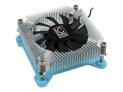 LC-Power LC Power Cosmo Cool LC-CC-65 - Gehäuselüfter - (LGA1156 Socket, LGA1155 Socket, LGA1150 Socket, LGA1151 Socket) - Aluminium - 65 mm - weiß, Blau, Silber