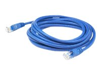 AddOn Patch cable RJ-45 (M) to RJ-45 (M) 7 ft UTP CAT 6 snagless blue