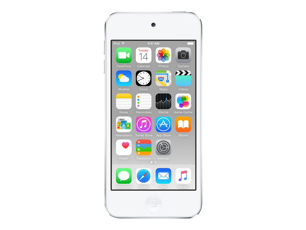 Apple iPod touch - 6. Generation - Digital Player - Apple iOS 8 - 32 GB - Silber
