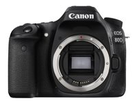 Canon EOS 80D Video Creator Kit digital camera SLR 24.2 MP APS-C 1080p / 60 fps