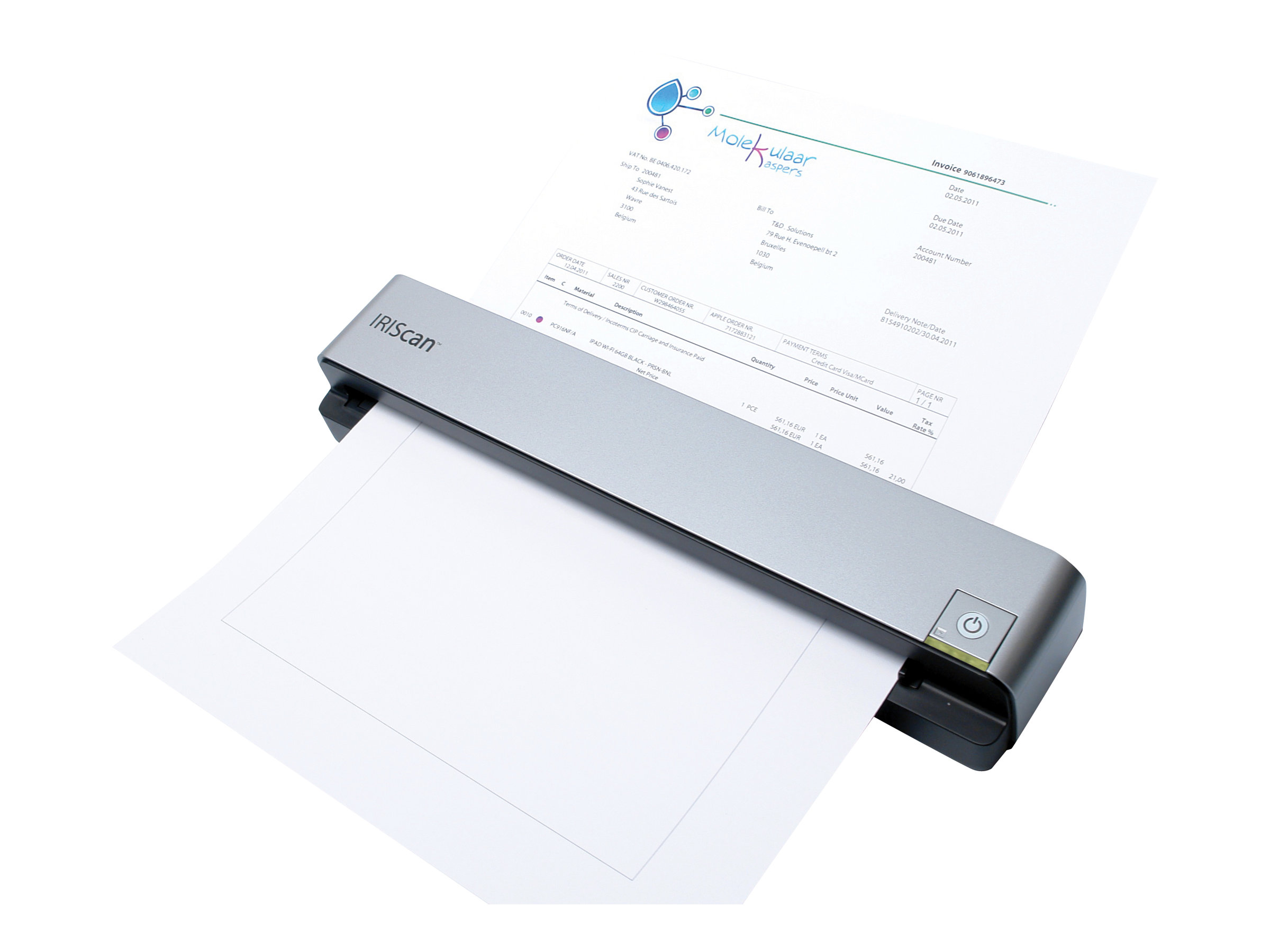 IRIS IRIScan Anywhere 3 scanner feuilles portable USB