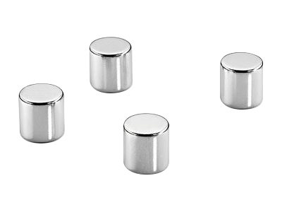 DAHLE - Lot de 4 aimants super puissants cylindrique NEODIME - 10 mm