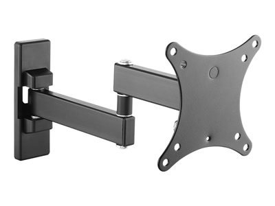 SIIG Articulating LCD/TV Monitor Mount 13INCH to 27INCH Wall mount for LCD display black