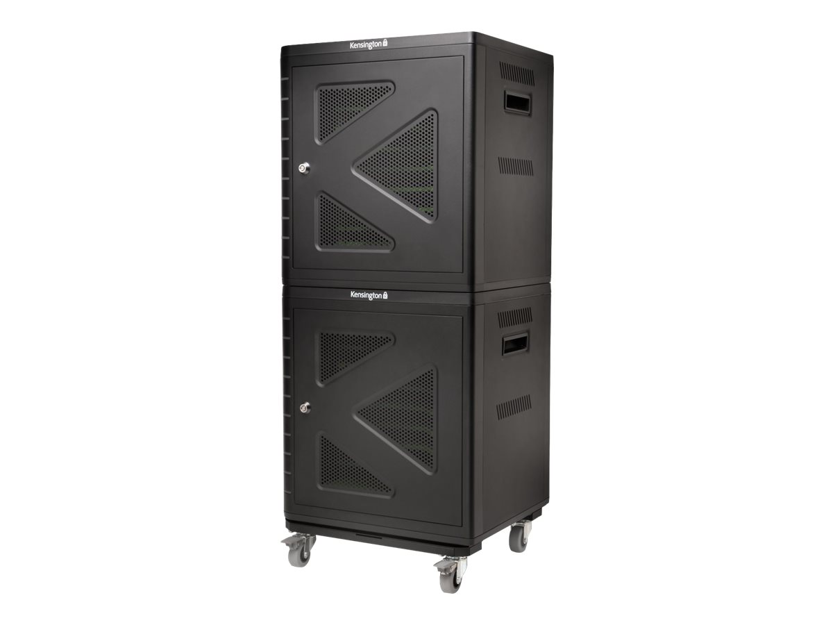 Kensington Charge & Sync Cabinet, Universal Tablet - cabinet unit - with Kensington Secure Cabinet Trolley