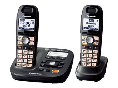 Panasonic KX-TG6592T Cordless phone answering system with caller ID/call waiting