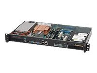 Supermicro SC503 200B Rack-mountable 1U micro ATX 200 Watt black