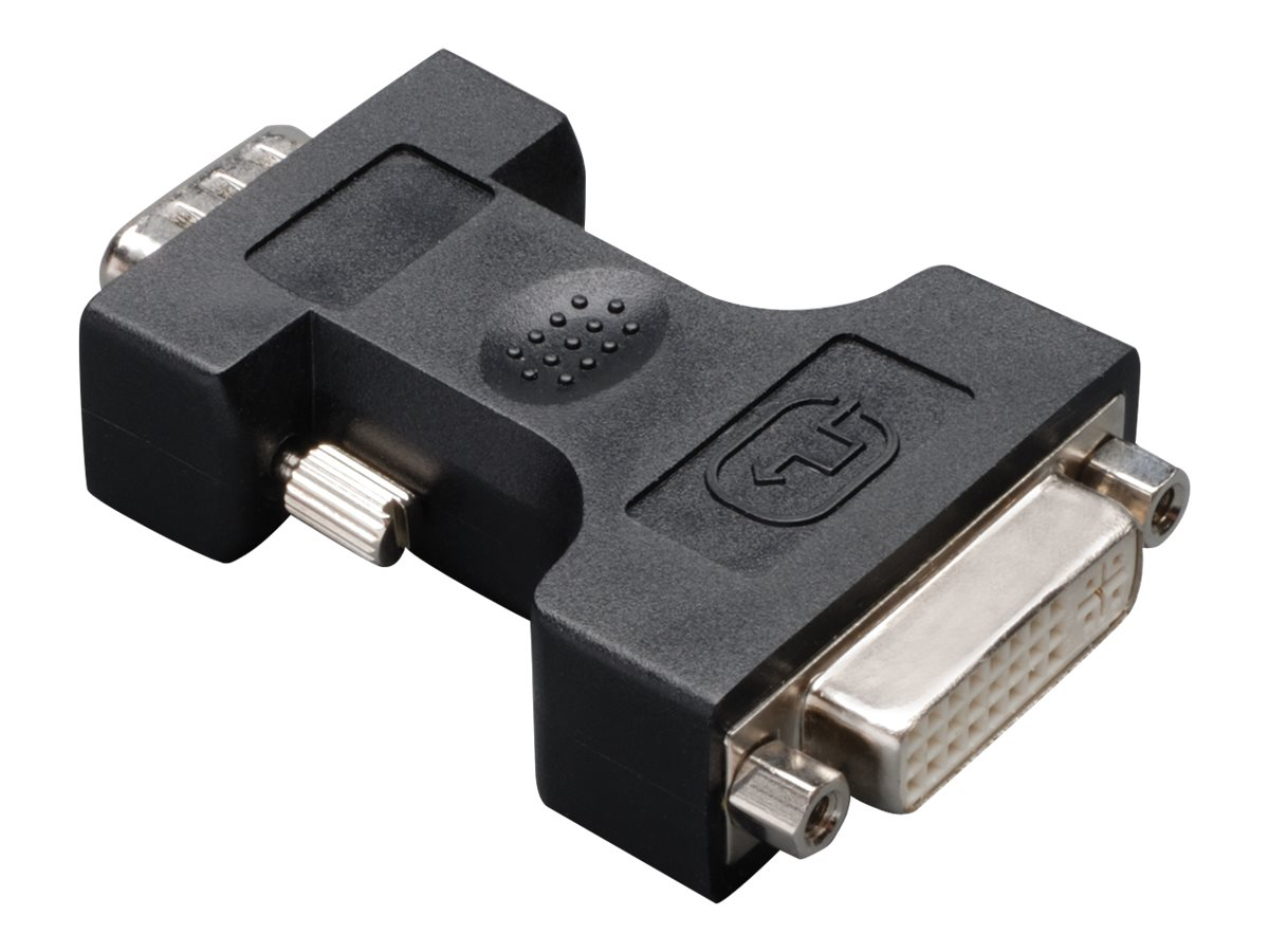 Tripp Lite DVI-I to VGA HD15 Cable Adapter Converter DVI to VGA Connector F/M - display adapter