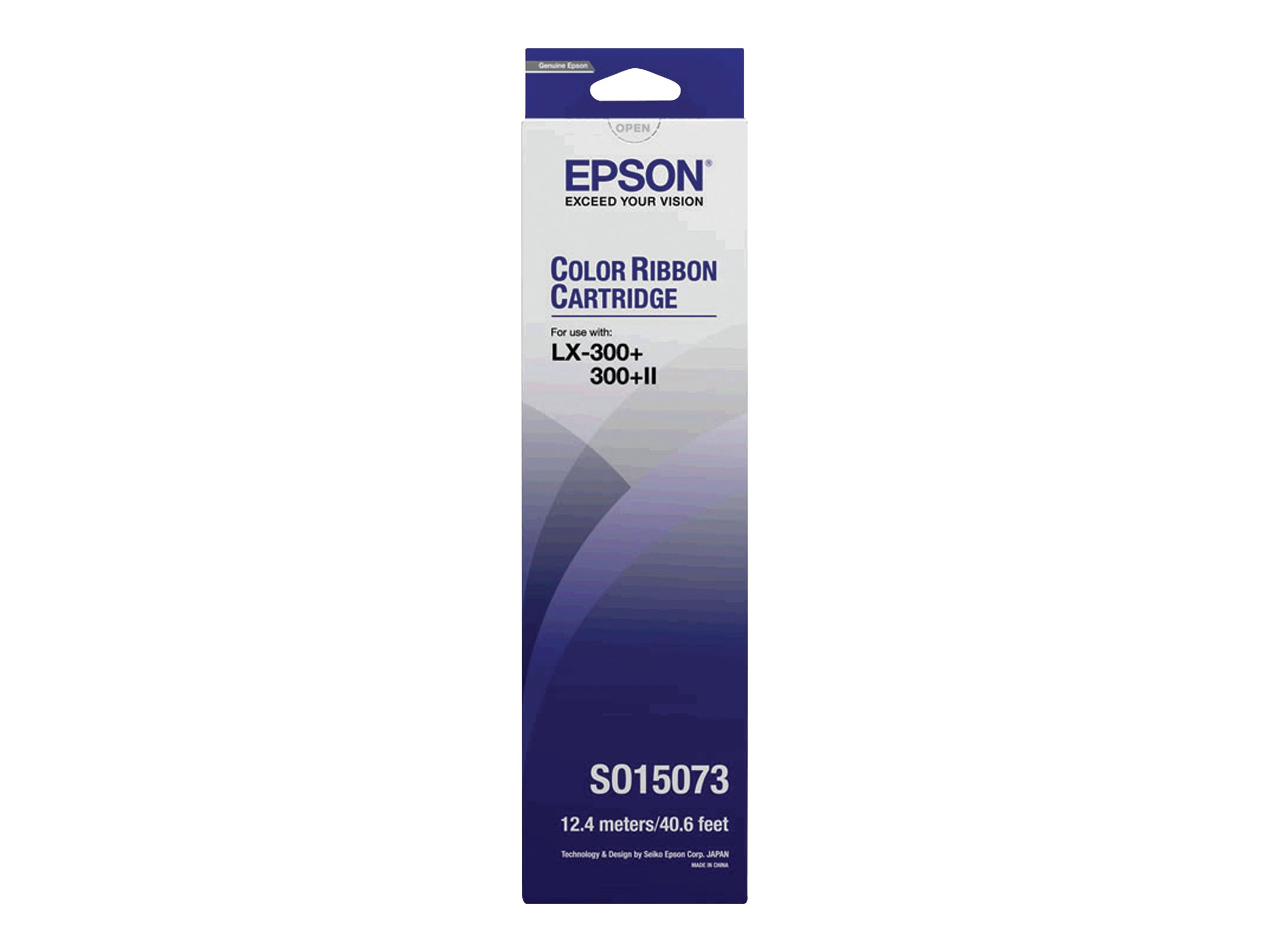 Epson - 1 - yellow, cyan, magenta - printer fabric ribbon